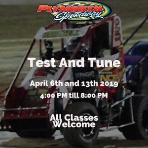 Test-N-Tune @ Plymouth Speedway | Plymouth | Indiana | United States
